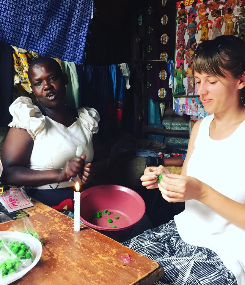 Extraknäck i Kibera
